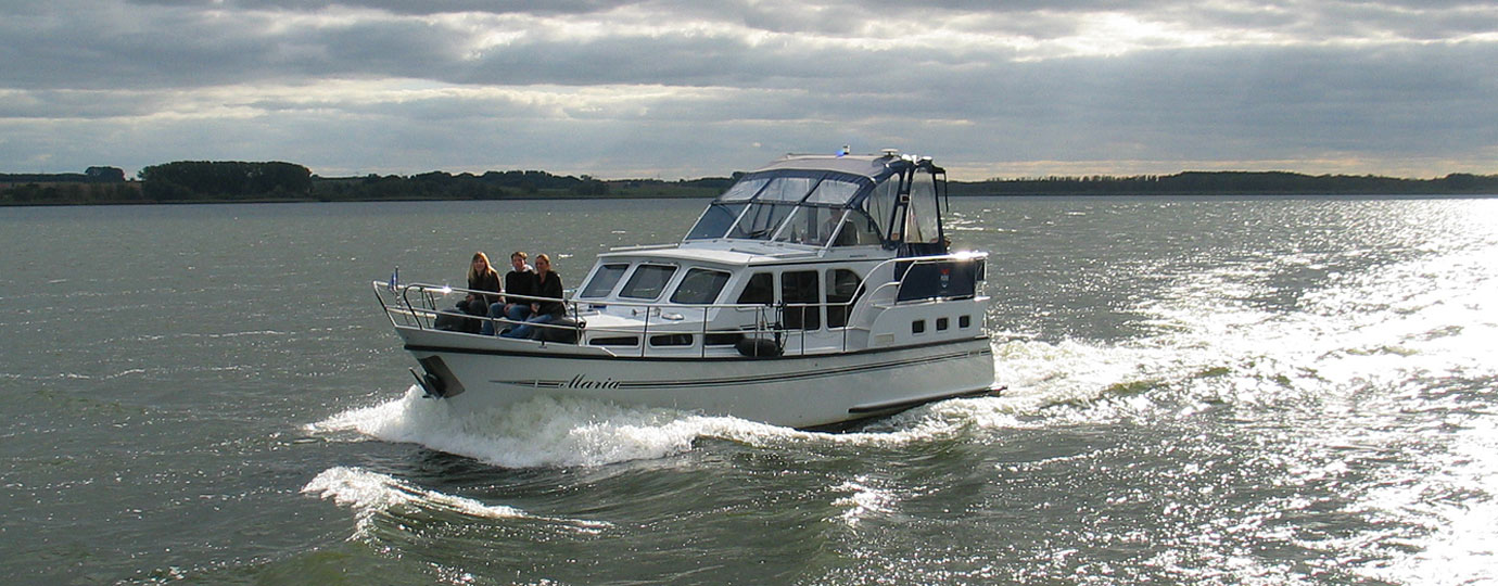 Bootsurlaub auf dem Kummerower See