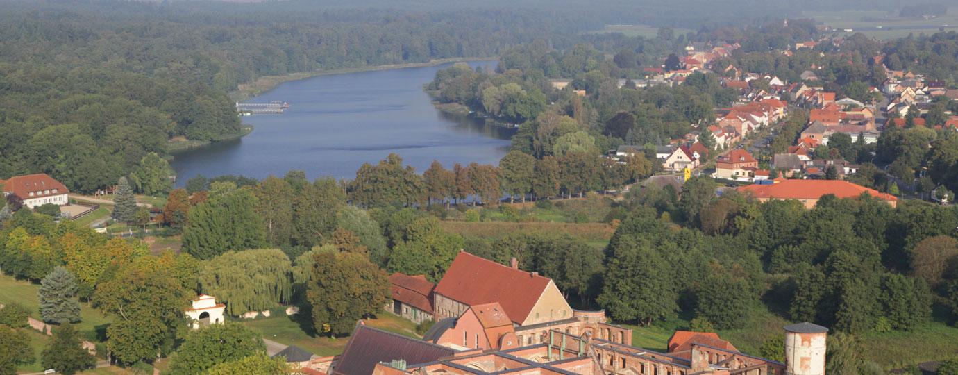 Luftbild Dargun - Kummerower See