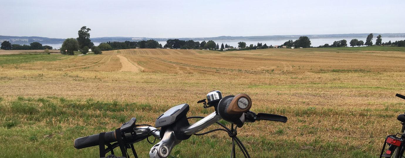 Radfahren am Kummerower See