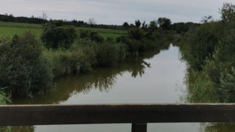 Blick auf Dahmer Kanal zwischen Malchin und Teterow