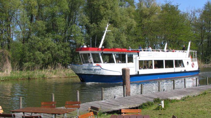Fahrgastschiff Hansestadt Demmin